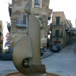 """Agrigento, alla """"Bibirria"""" l'opera scultorea del maestro Salvatore Cipolla"""