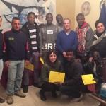 """Realmonte, progetto """"SPRAR"""": consegnati attestati del tirocinio di formazione ai sei richiedenti asilo"""