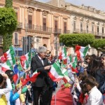 Festeggiato a Licata il 25 Aprile: Diomede regala la Costituzione