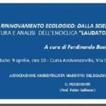 """""""Il rinnovamento ecologico: dalla scienza alla religione"""", Marevivo Sicilia organizza una conferenza"""