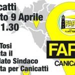 Flavio Tosi (Fare!) a Canicattì presenta le liste per le elezioni comunali