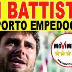 Amministrative Porto Empedocle: domani Di Battista (M5S) a sostegno del candidato sindaco Carmina