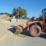 Agrigento, ripulita la pista ciclabile del lungomare di San Leone