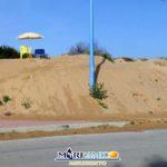 "San Leone, MareAmico: ""duna sulla pista ciclabile"" – VIDEO"