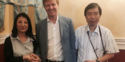 Agrigento, artisti giapponesi ricevuti dal sindaco Firetto