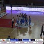 Fortitudo Agrigento, buona la prima: vittoria al cardiopalma contro Mantova