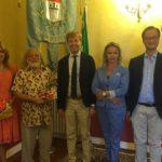Agrigento, l'artista Pototsky ricevuto dal sindaco Firetto