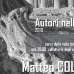 """Agrigento, """"Autori nella Valle"""": primo appuntamento con Matteo Collura"""