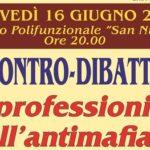 """A Grotte un convegno sui """"Professionisti dell'Antimafia"""""""