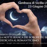"""Sambuca di Sicilia festeggia il solstizio d'estate con la """"Notte Romantica"""""""
