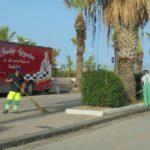 Agrigento: continuano gli interventi di pulizia del lungomare e della via Atenea