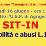 Scuola, abusi legge 104: giovedì sit-in dell'Associazione Insegnanti in Movimento