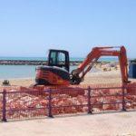 San Leone: iniziati i lavori di rimozione delle cabine Aster
