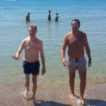 """Giornata """"estiva"""" per il sindaco Firetto: restituita alla città la spiaggia Aster – FOTO"""