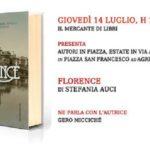 """Agrigento, """"Autori in piazza – Estate in via Atenea"""": domani la presentazione del libro """"Florence"""" di Stefania Auci"""