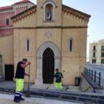 Festeggiamenti per San Calogero: pulizia del Santuario tra una processione e l'altra