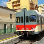 Treno storico per la Madonna del Carmine da Agrigento a Porto Empedocle
