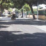 San Leone, si ultimano i lavori per il rifacimento della condotta idrica: Viale dei Pini torna asfaltato