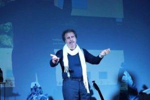 Il medico-cantautore Salvatore Nocera Bracco