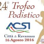 """Atletica: domani si presenta il Trofeo Podistico """"Città di Ravanusa"""""""