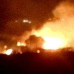 """Ettari di terreno in fumo nei pressi di Bivona: """"possibile mano di un piromane"""""""