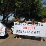 """Agrigento, trasferimenti nelle scuole Legge 104: le proteste degli """"Insegnanti in movimento"""""""