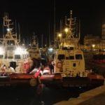 Porto Empedocle, concluse le operazioni di sbarco dei 300 migranti