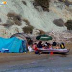 Tende e imbarcazioni a Punta Bianca: MareAmico ringrazia la Capitaneria di Porto
