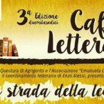 """Agrigento, Francesco Pira e Gaetano Allotta ospiti venerdì del Caffe Letterario """"Sulla strada della legalità"""""""