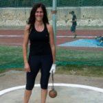 Giusi Parolino medaglia d'argento ai campionati regionali pentathlon lanci di atletica leggera