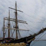 """La Nave Scuola """"Palinuro"""" a Porto Empedocle fra orgoglio della Marina e """"erosione costiera"""" – FOTO E VIDEO"""