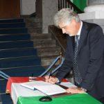 Agrigento, Prefetto e autorità firmano le condoglianze per la scomparsa del Presidente Ciampi – FOTO