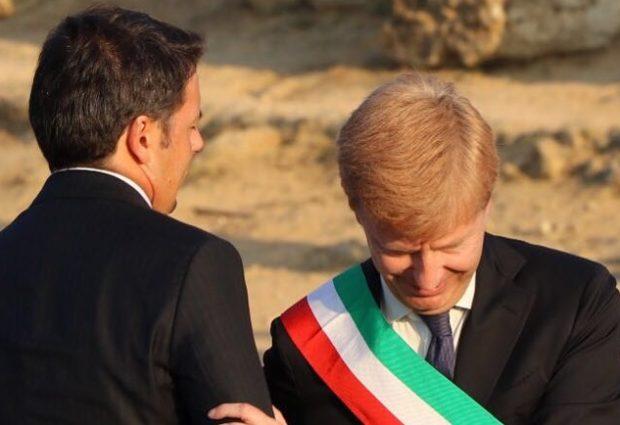 """Il premier Renzi: """"ad Agrigento un Sindaco che governa bene"""""""