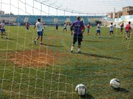 Akragas, continua l'allenamento in vista in vista del Cosenza