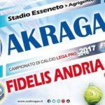Verso Akragas-Fidelis Andria: novità e probabili formazioni