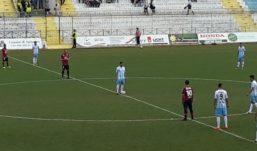 Akragas, arriva il quarto pareggio consecutivo: 1-1 contro il Taranto
