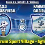 Calcio a 5, l'Akragas Futsal ospita i ragusani del Kamarina – SEGUI LA DIRETTA