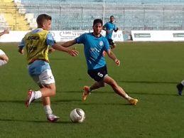 Akragas, allenamento allo stadio Esseneto in vista della Juve Stabia