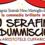 """Teatro, la commedia """"Lu Serafinu addummisciutu"""" di Aristotele Cuffaro sulla scena in Belgio"""