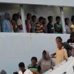 Porto Empedocle, sbarcati 99 migranti: fra loro anche 6 donne e 29 minori
