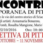 Arte e pittura a Sciacca: estemporanea e mostra nel centro storico