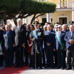 """Agrigento, alla Villa Bonfiglio le celebrazioni del """"Giorno dell'Unità Nazionale e la Festa delle Forze Armate"""""""