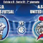 Akragas Futsal in cerca del riscatto contro lo United Capaci – SEGUI LA DIRETTA