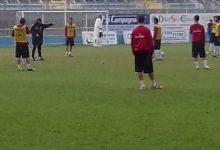 Akragas, allenamento e partenza per la Campania prima della partita con il Melfi