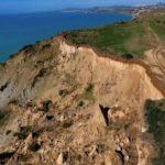 Agrigento, la collina del poligono di Drasy continua a franare – VIDEO