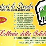 """Agrigento, parte la """"Lotteria della Solidarietà"""" dei """"Volontari di strada"""""""