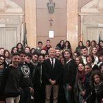 """""""Viaggio nelle Istituzioni"""": il sindaco Firetto parla ai ragazzi dell'ITCET """"Leonardo Sciascia"""""""