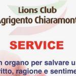 Agrigento, continuano gli incontri del Lions Club Chiaramonte