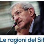"""Agrigento, """"Sì"""" al referendum: domani incontro con Luciano Violante"""