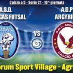 Calcio a 5: Akragas Futsal alla prova Argyrium – Segui la diretta